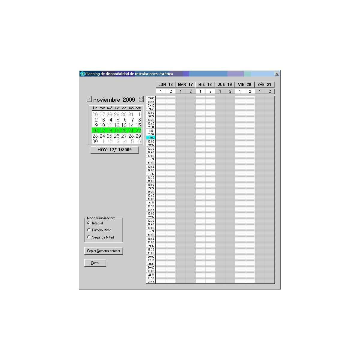 Software completo de gestión centros de bronceado