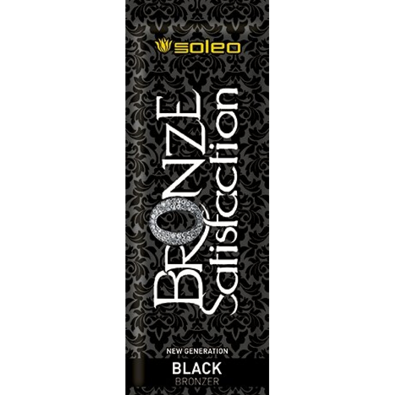 Bronze Satisfaction Black 15ml - Soleo - Envelopes Monodose - Soleo