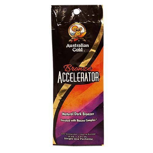Bronze Accelerator 15ml - Australian Gold - Seule Portion Packs - Australian Gold