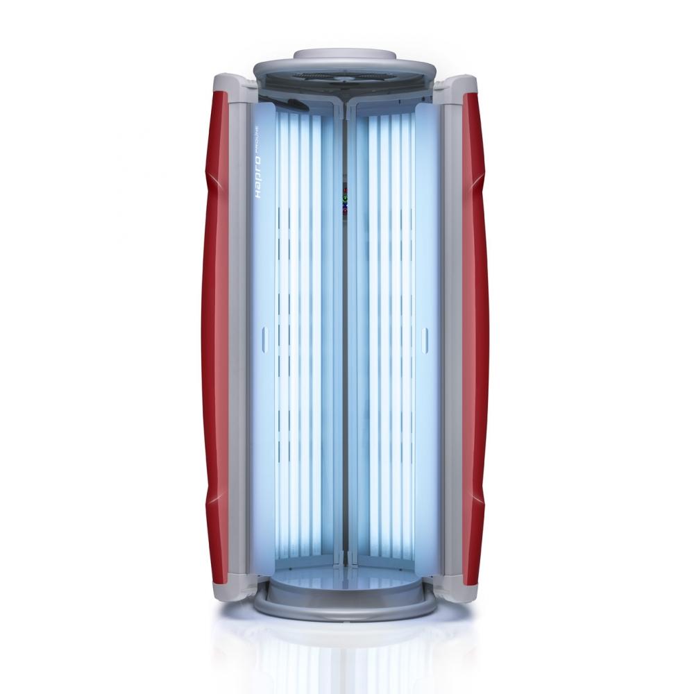 Solário vertical Hapro Proline 28V Intensive