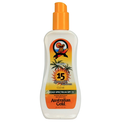 Australian Gold SPF 15 Spray Gel