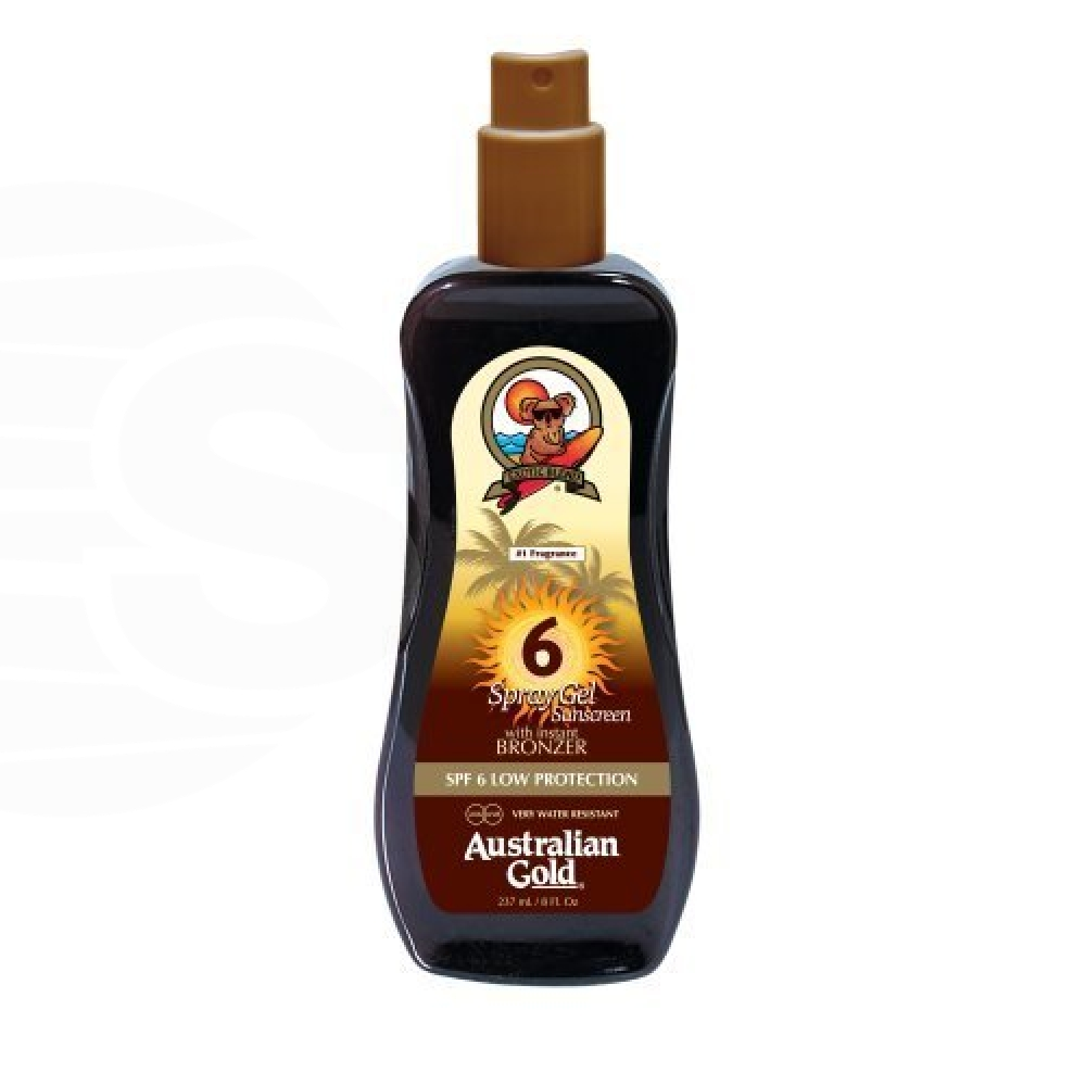 Australian Gold SPF 6 Spray Gel W/Bronzer
