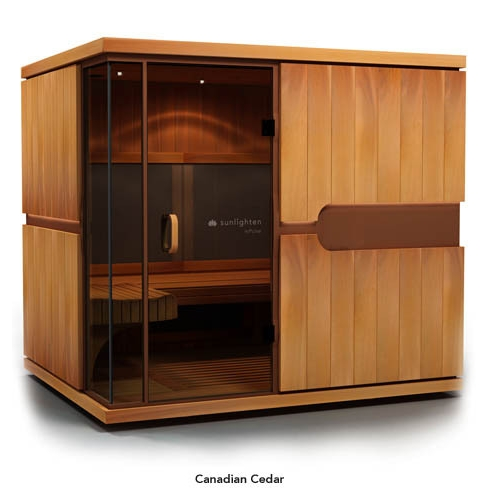 Sauna MPulse EMPOWER Cedar