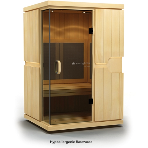 Sauna MPulse BELIEVE Basswood - Aparatologia.es - Sunlighten