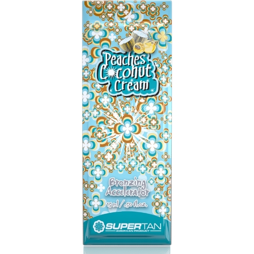 Supertan Peaches Coconut 15ML - Envelopes Monodose - Supertan