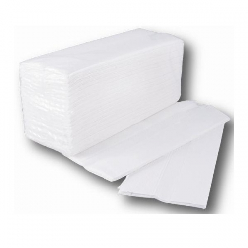 Towels ZIG-ZAG Tissue Embossing,Box of 20 packs, 150 und