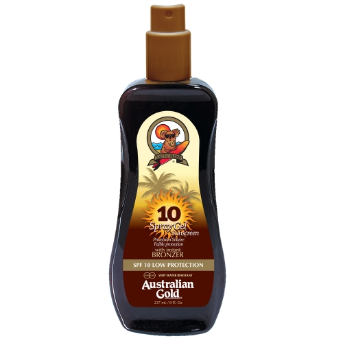 Australian Gold - SPF 10 Spray Gel W/Bronze