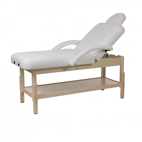 Stretcher massage table wood Nora Weelko