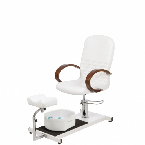 Pedicure armchair with bathtub - Stretchers of esthetics - Weelko