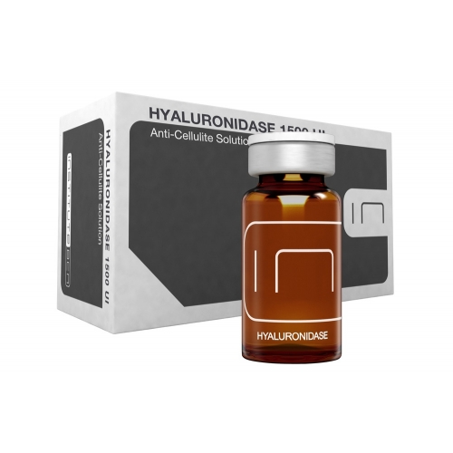 Vials Hialuronidase1500 UI Anti-Cellulite Solution - Active principles - Institute BCN