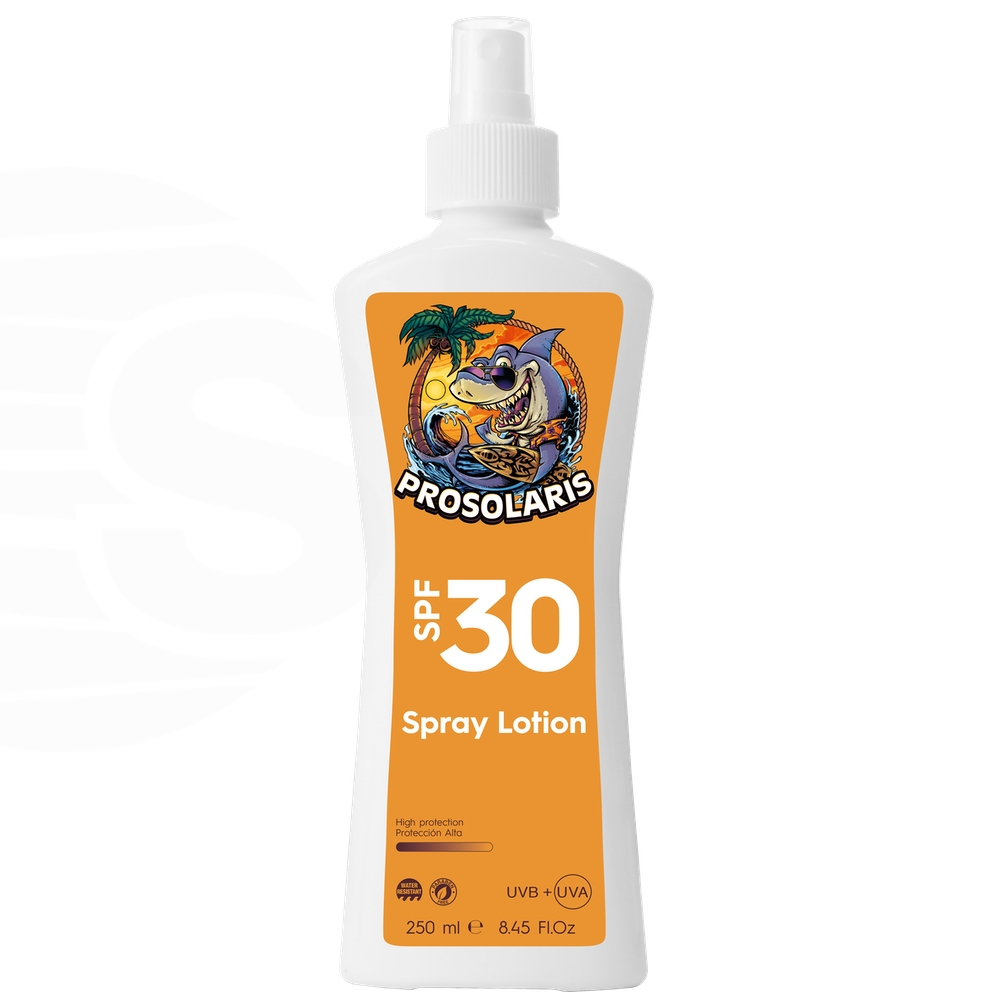 Prosolaris SPF30 Spray Gel - crema solare gamma professionale - Prosolaris - Prosolaris