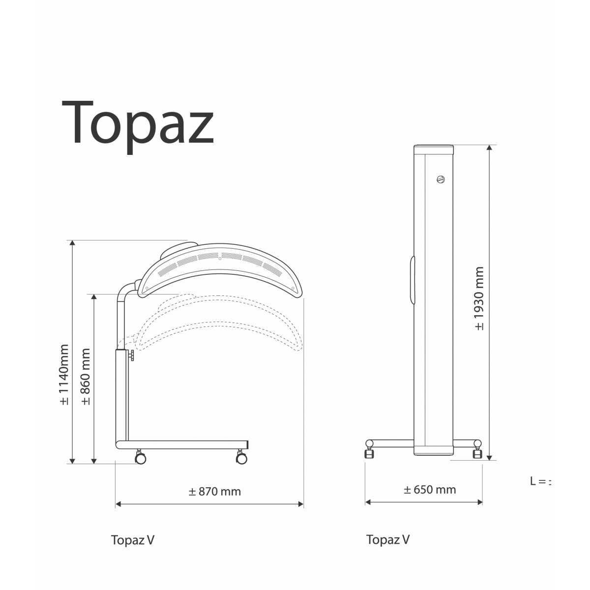 Hapro Topaz 10 V Solário - Solários Domésticos - Hapro
