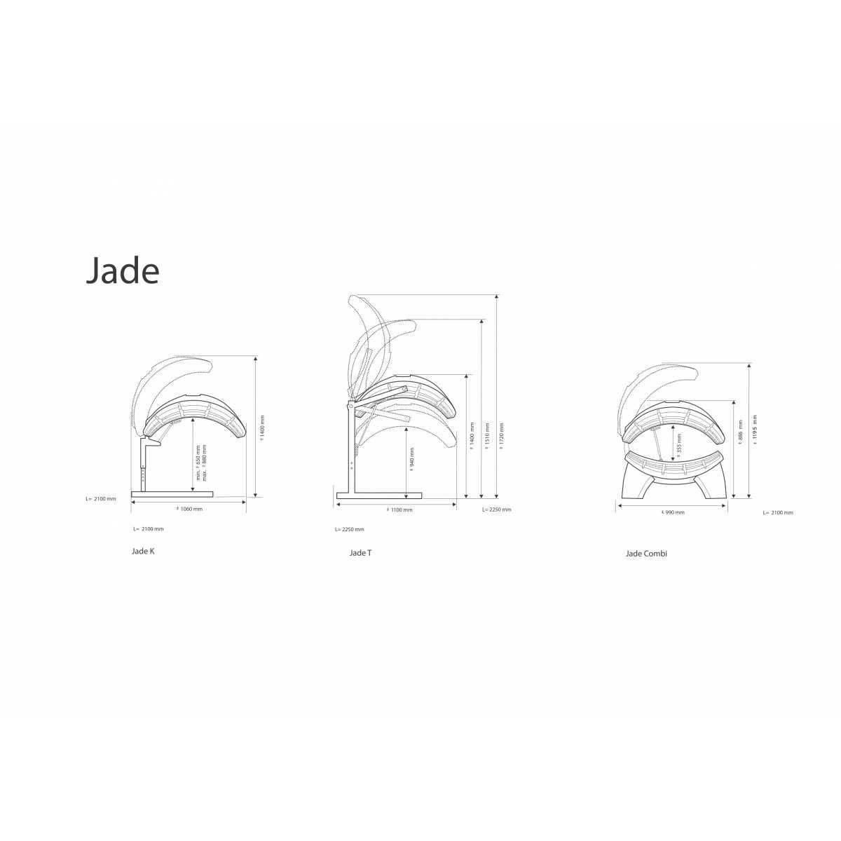 Hapro Jade Jade 24 C Lc - Solário Doméstico