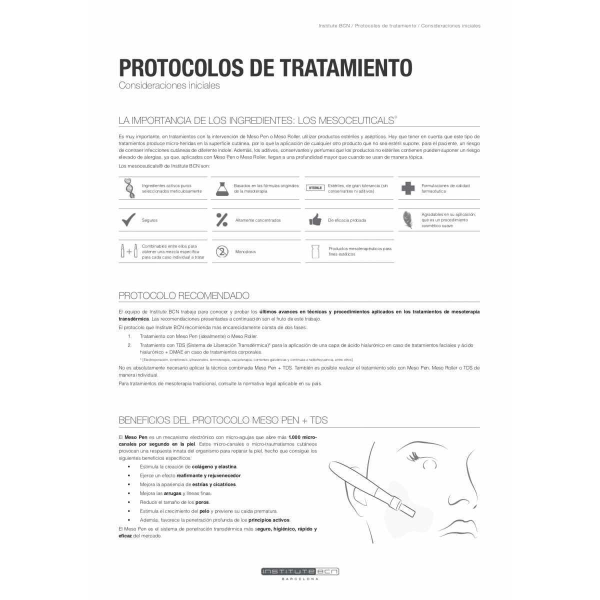 Acido glicolico Fiale di Soluzione Radiante - Principi attivi - Institute BCN