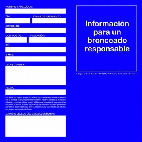 Consentimiento informado RD1002/2002