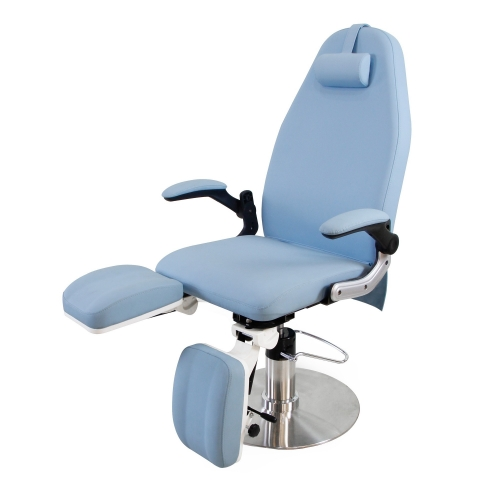 Chair pedicure hydraulic Blue