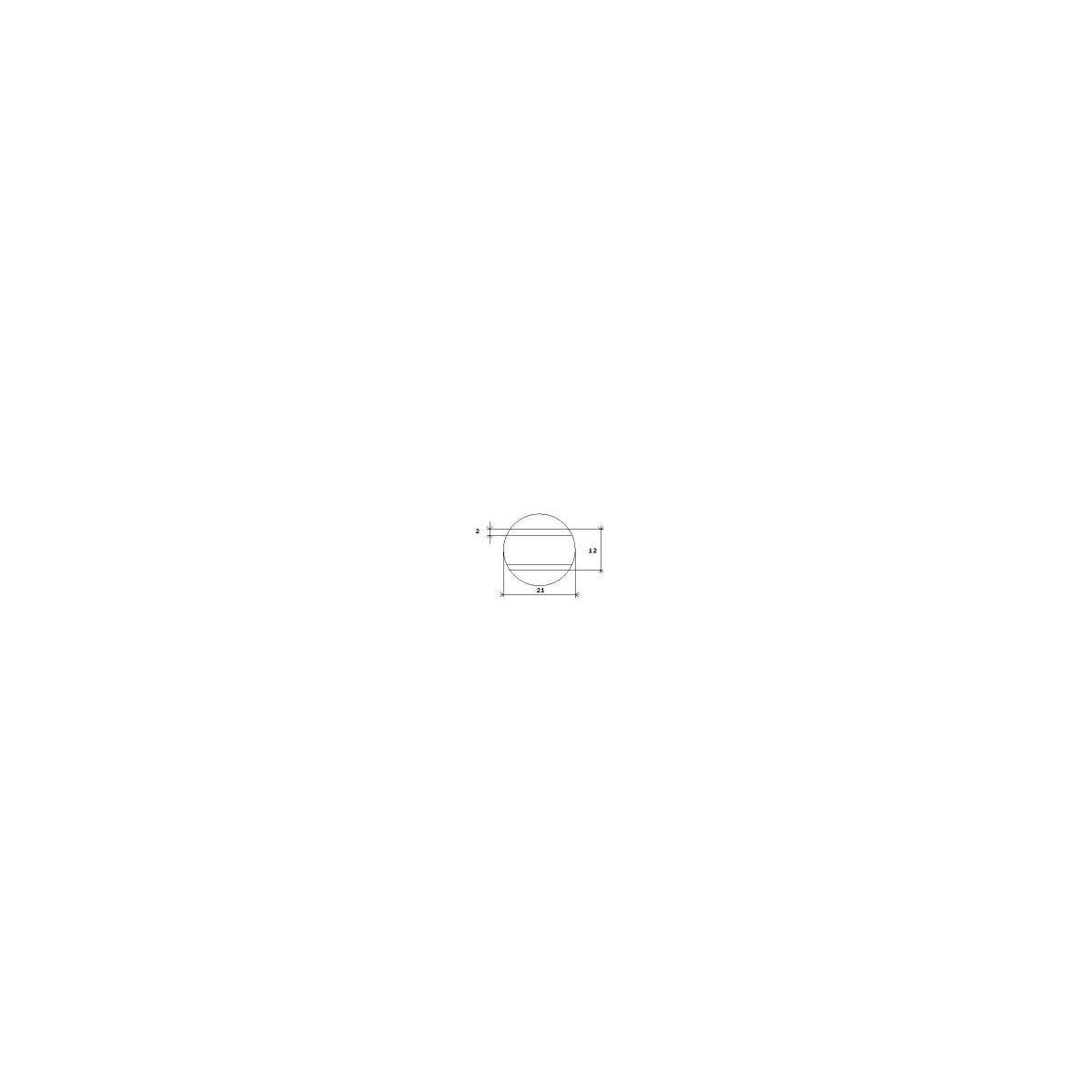 Jetons de 25 mm, 100 unités pour Sunmatic - Paymatic Inepro